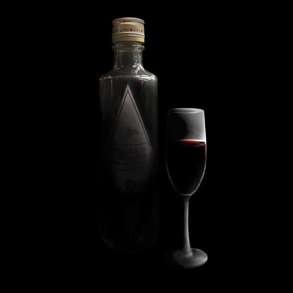 ラズベリー梅酒シルエット_r4