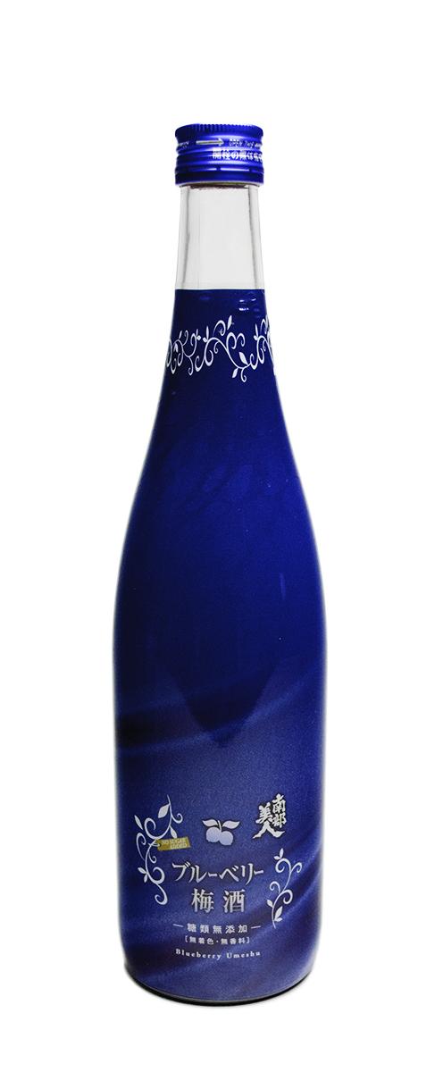 糖類無添加「ブルーベリー梅酒」720ml 商品画像