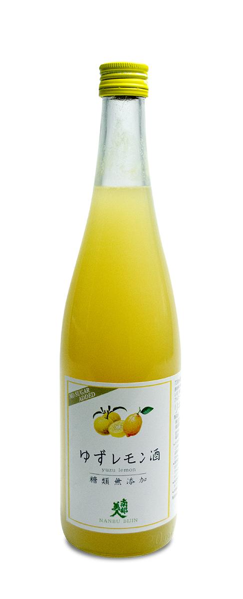 糖類無添加「ゆずレモン酒」720ml 商品画像
